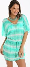 Watercult, 1295[^]272376 Batik Girl Tunic Dress - Mint