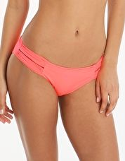 Watercult, 1295[^]270590 Summer Solids Double Band Pant - Coral