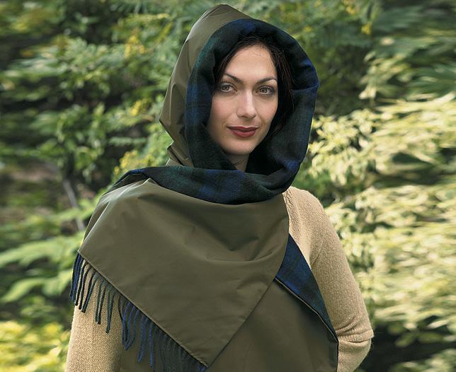 Капюшон-шарф Модель выполнена спицами Вам потребуется: 400г пряжи типа...