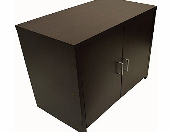 WATSONS HIDEAWAY - Sideboard Office Computer Storage Desk - Dark Oak product image