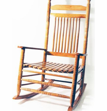 WATSONS ORLEANS - Solid Wood Traditional Rocking Chair - Oak product image