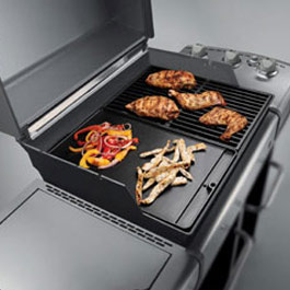 weber barbeque cast iron griddle spirit e310 gas bbq. Black Bedroom Furniture Sets. Home Design Ideas