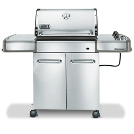 Weber Genesis S 310 >> Weber Genesis S310 Stainless Steel Barbeque BBQ - review ...