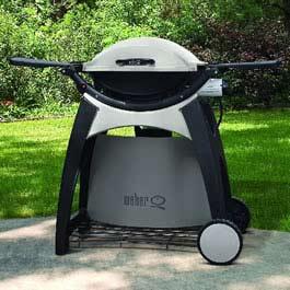 weber q 200 series permanent barbeque cart 54604 bbq. Black Bedroom Furniture Sets. Home Design Ideas