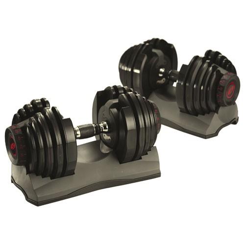 Bowflex Adjustable Dumbbells Used: Bowflex Dumbbells