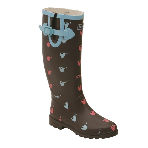 Women` Wellie Fish Wellingtons