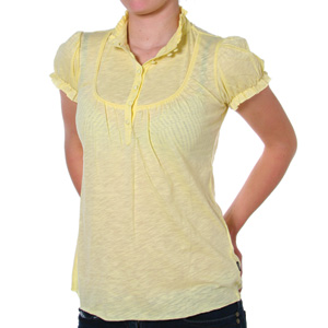 WESC Ladies Misty Smock top - Popcorn product image
