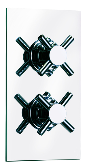 Cross Wall Mounted Thermostatic Valve - CLICK FOR MORE INFORMATION