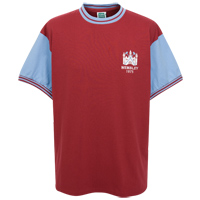Ham United 1975 FA Cup Final No.4 Shirt - - CLICK FOR MORE INFORMATION