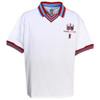 Ham United 1980 FA Cup Final Shirt - White. - CLICK FOR MORE INFORMATION