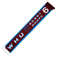 Ham United Bobby Moore Scarf. - CLICK FOR MORE INFORMATION