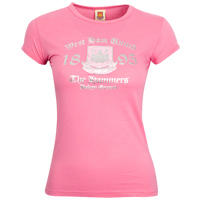 Ham United Crest and Date Foil T-Shirt - - CLICK FOR MORE INFORMATION