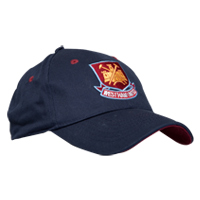 Ham United Crest Cap - Navy. - CLICK FOR MORE INFORMATION