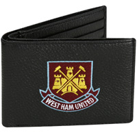 Ham United Embroidered Wallet - Black. - CLICK FOR MORE INFORMATION