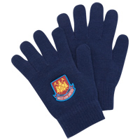 Ham United Glove - Navy. - CLICK FOR MORE INFORMATION