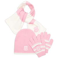 ham United Hat Scarf and Glove Set - Pink - - CLICK FOR MORE INFORMATION