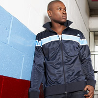 Ham United Retro Track Top - Navy. - CLICK FOR MORE INFORMATION