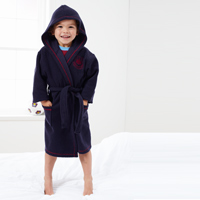 Ham United Robe - Navy - Boys. - CLICK FOR MORE INFORMATION