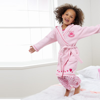Ham United Robe - Pink - Girls. - CLICK FOR MORE INFORMATION