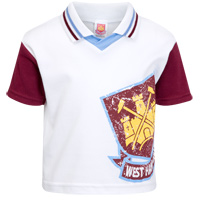 Ham United T-Shirt - Claret/Blue - Baby. - CLICK FOR MORE INFORMATION