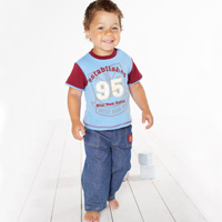 Ham United T-Shirt and Jean Set - Claret/ - CLICK FOR MORE INFORMATION