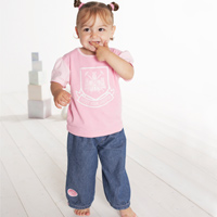 Ham United T-Shirt and Jean Set - Pink - - CLICK FOR MORE INFORMATION