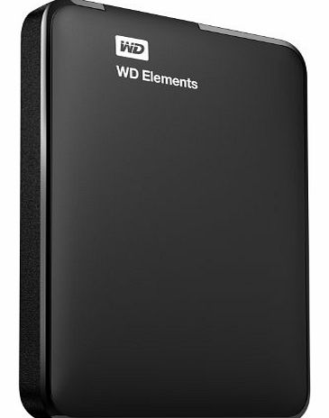 Western Digital WD Elements 1TB USB 3.0 High Capacity Portable Hard Drive for Windows product image