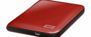 Western Digital WD My Passport Essential 500 GB Real Red Portable Hard Drive (USB 3.0/2.0) product image