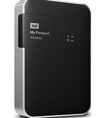 Western Digital WD My Passport Wireless Wi-Fi 1 TB Mobile Storage product image
