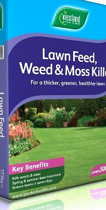 Westlands Horticulture Ltd Westland 500m Lawn Feed Weed Moss Killer