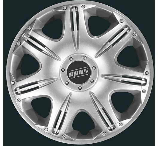 16`` Opus Wheel Trims - Silver - Set 4
