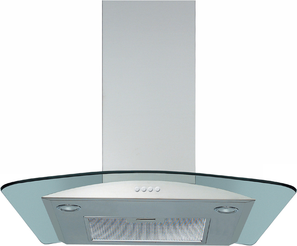 AKR503IX 60cm Decorative Chimney Hood