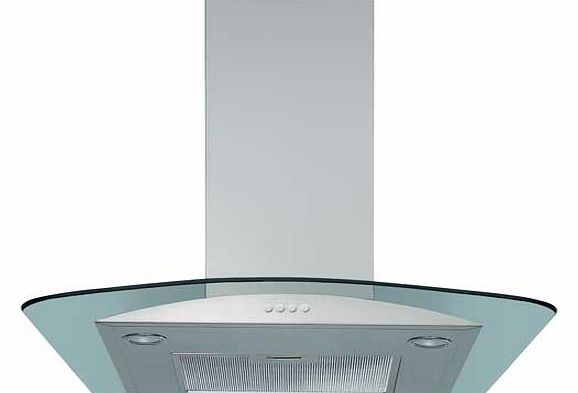 AKR503IX 60cm Glass Chimney Cooker
