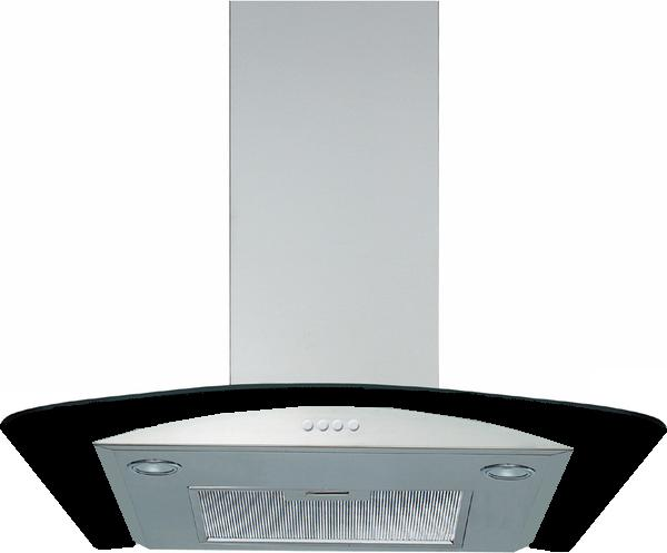 AKR503NB 60cm Decorative Chimney Hood