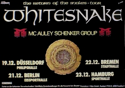 Seal - Return of the Snakes Tour 1987 Music Poster