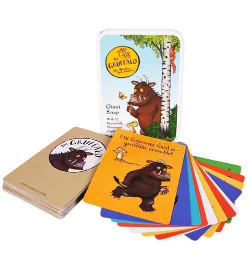 Kids Gruffalo Giant Snap Cards