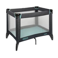 Wilkinson Plus Graco Compact Play Travel Cot Liquorice