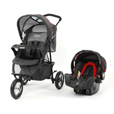 Graco Expedition Travel System Pushchair and Car