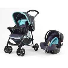 Graco Mirage Travel System Pushchair Liquorice