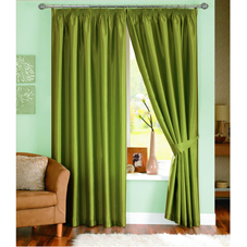 Wilkinson Plus Java Lined Curtains Moss 46inx72in