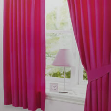 Shopzilla - Pink Velvet Curtain Curtains & Drapes shopping - Home