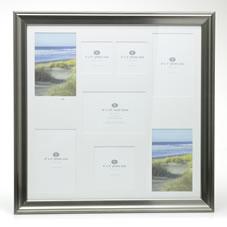 wilko photo frame multi frame silver 16inx16in click for. Black Bedroom Furniture Sets. Home Design Ideas