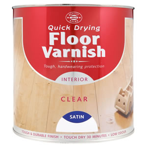 Wilko Quick Drying Floor Varnish Interior Clear