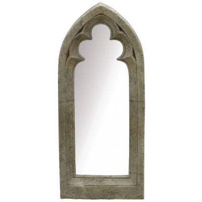 Garden mirror gothic window for Church style mirrors