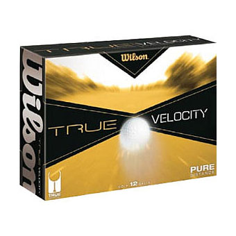 Wilson 144 True Velocity Distance Golf Balls 144