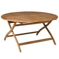 Dimensions: (H) 750mm x Diameter 1500mm, Teak, Comfortably seats 6 people, Assembly and care - CLICK FOR MORE INFORMATION