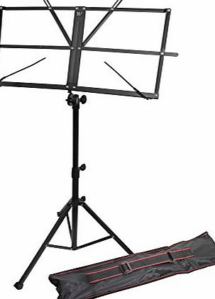 Windsor Music Stand With Bag - Black