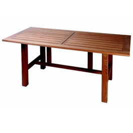 Dimensions of smaller table: height:73cm depth:90cm length:1.5m. Dimensions of larger table: - CLICK FOR MORE INFORMATION