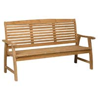 Dimensions: (H) 950mm x (W) 1630mm x (D) 635mm, Teak, Comfortably seats 3 people, Matching Items - CLICK FOR MORE INFORMATION