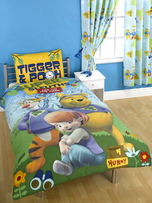winnie the pooh duvet cover and pillowcase uper sleuths